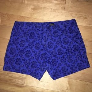 Never worn pattern shorts!